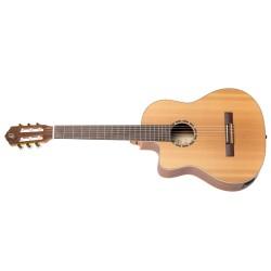 Ortega RCE131-L gitara el. klasyczna 4/4 z pokrowcem leworęczna