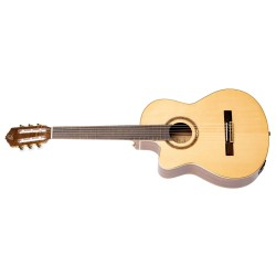 Ortega RCE138-T4-L gitara el. klasyczna 4/4 z pokrowcem leworęczna