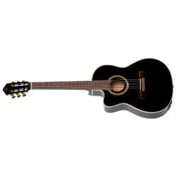 Ortega RCE138-T4BK-L gitara el. klasyczna 4/4 z pokrowcem leworęczna