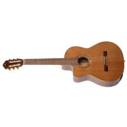 Ortega RCE159MN-L gitara el. klasyczna 4/4 z pokrowcem leworęczna