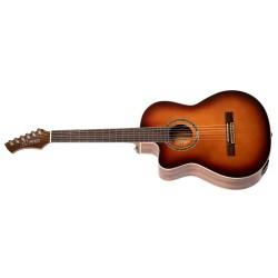 Ortega RCE238SN-FT-L gitara el. klasyczna 4/4 z pokrowcem leworęczna