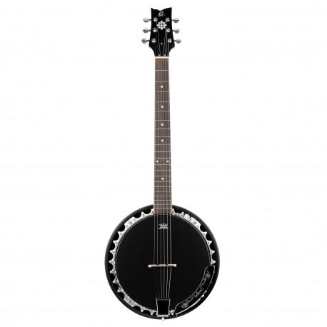 Ortega OBJE356-SBK-L banjo 6-strunowe leworęczne