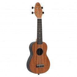 KEIKI K2-MAH ukulele sopranowe z akcesoriami
