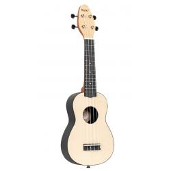 KEIKI K2-MAP ukulele sopranowe z akcesoriami
