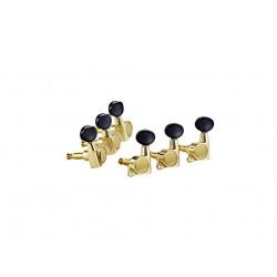 Ortega OTMEG33-GO klucze olejowe 3+3 złote