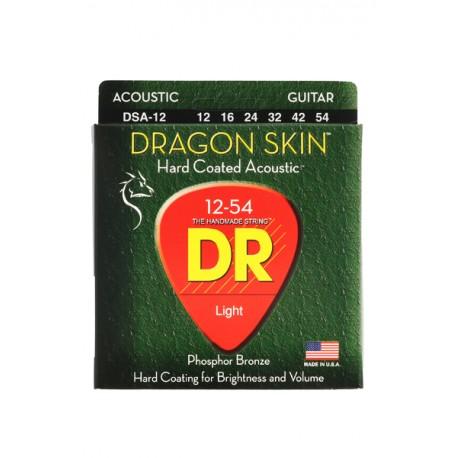 DR DSA-12/12-56 DRAGON SKIN struny do gitary akustycznej